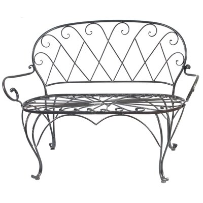 A&B Home Group, Inc Iron Entryway Bench