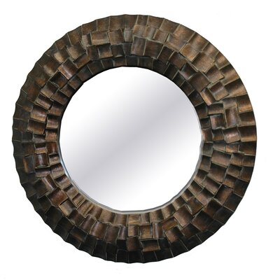 Imagination Mirrors The Hobbit Round Framed Mirror in Molten Dark Penny