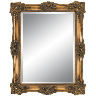 Imagination Mirrors Antique Beauty Wall Mirror in Antique Gold