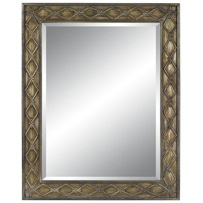 London Dreams Wall Mirror in Rustic Silver