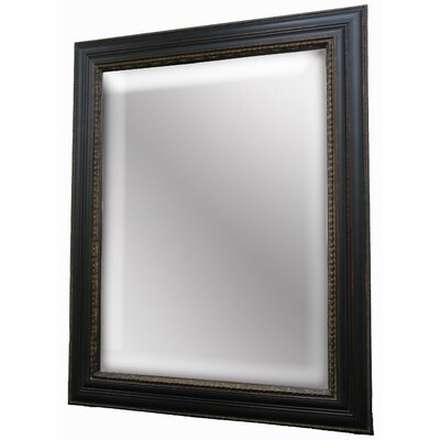 Design Masterpiece Wall Mirror in Black Dark Gold