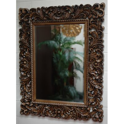 Flora Rectangular Traditional Framed Mirror