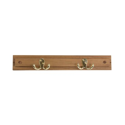 Teakworks4u Teak Robe Hook / Coat Rack