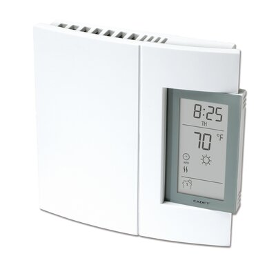 Cadet Single Pole Electronic Programmable Wall Mount Thermostat