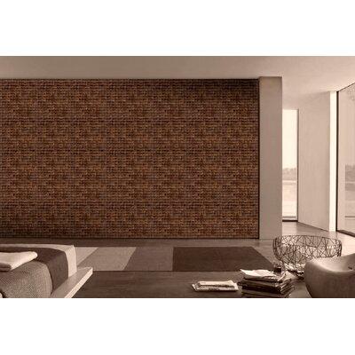 Cocomosaic Coconut Mosaic Tile in Espresso Luster