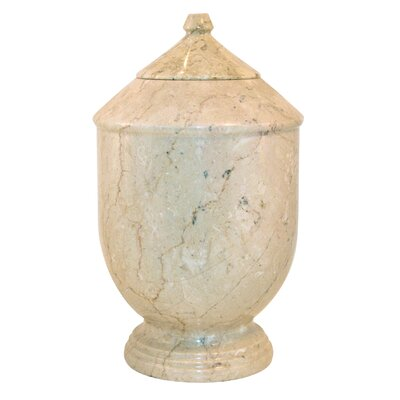 Marble Products International Petra Cameo Pet Urn