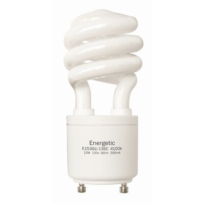 Energetic Lighting T3 13W GU24 Bulb (Pack of 3)