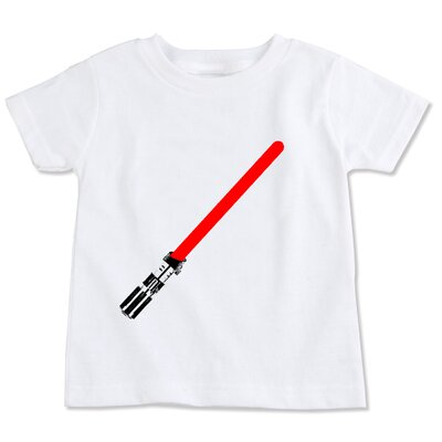 Spunky Stork Light Saber Organic T-shirt