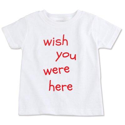Spunky Stork Wish You Were Here Organic T-shirt