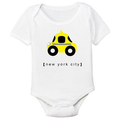 Spunky Stork New York City Taxi Organic One Piece
