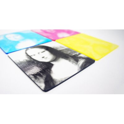 Molla Space, Inc. CMYK Printed Coasters
