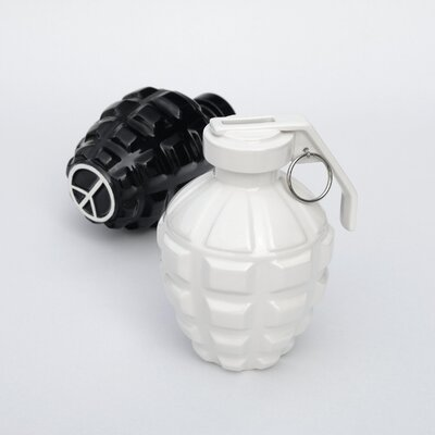 Molla Space, Inc. Biaugust A Love Grenade Coin Bank