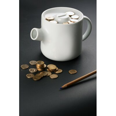 Molla Space, Inc. Megawing Teapot Coin Bank