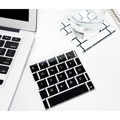 Molla Space, Inc. Keyboard Coasters