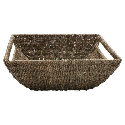 TAG Baskets Large Seagrass Coupe Basket