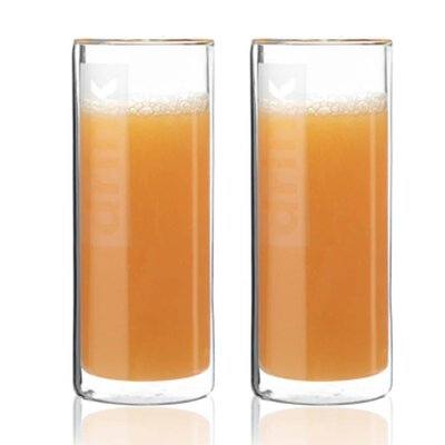 TAG Viva Glassware Classic Double Wall Juice Glass (Set of 2)