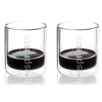 TAG Viva Glassware Classic Double Wall Espresso Glass (Set of 2)