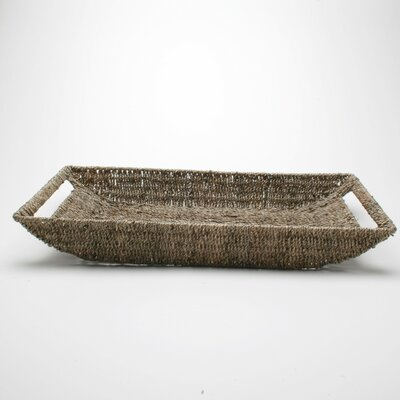 TAG Baskets Large Seagrass Shallow Basket