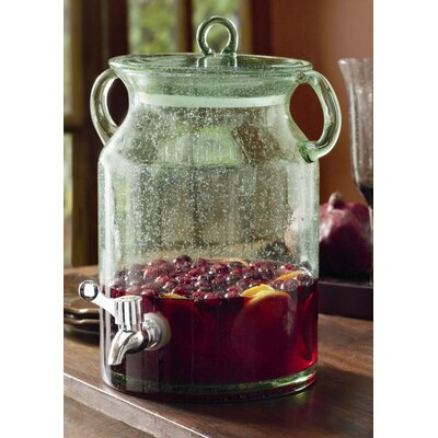 TAG Entertaining Vintage Glass Jar Drink Dispenser