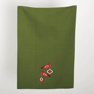 TAG Birds and Berries Embroidered Dishtowel