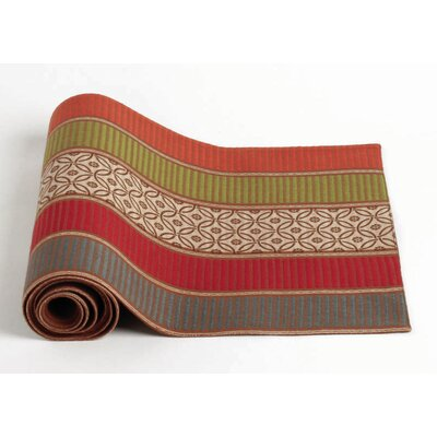 Thanksgiving Plymouth Stripe Table Runner