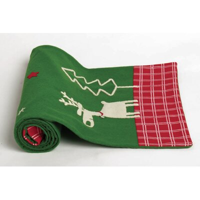 TAG Whimsy The Magic Of Xmas Felt Table Runner
