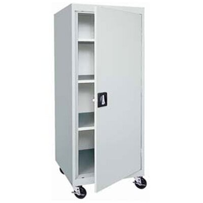"Sandusky Cabinets Transport 46"" Mobile Storage Cabinet"