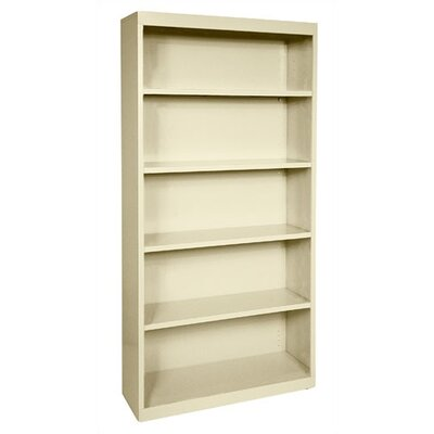 "Sandusky Cabinets 72"" H Five Shelf Bookcase"