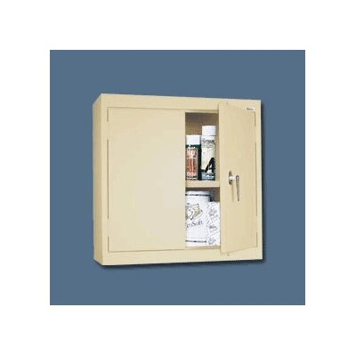 Sandusky Cabinets Single Solid Door Wall Cabinet
