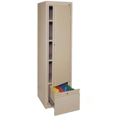 "Sandusky Cabinets Systems Series 17"" Single Door Storage Cabinet"