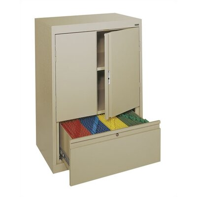 "Sandusky Cabinets Systems Series 30"" Counter Height Storage Cabinet"