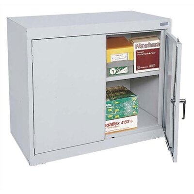 Sandusky Cabinets Elite Series Two-Door Desk Height Mobile Cabinet