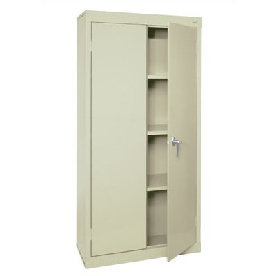 Sandusky Cabinets Valueline Mobile Storage Cabinet with Fixed Shelves