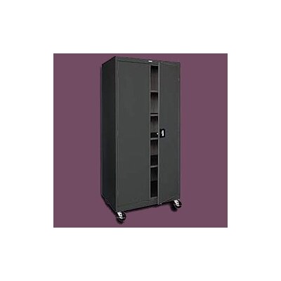 "Sandusky Cabinets Transport Five Shelf Mobile Storage - 72"" x 30"" x 24"""