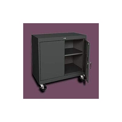 Sandusky Cabinets Transport Two-Door Work Height Storage - 48&quot; x 46&quot; x 24&quot;