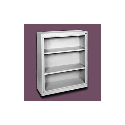 "Sandusky Cabinets 42"" H Three Shelf Bookcase"