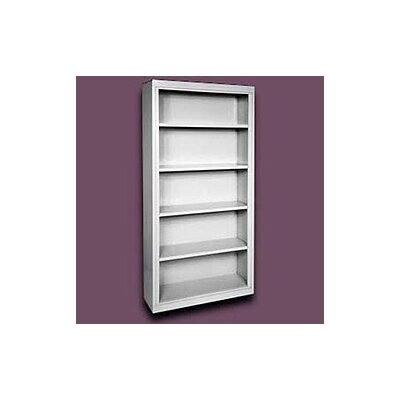 "Sandusky Cabinets 72"" H Deep Five Shelf Bookcase"