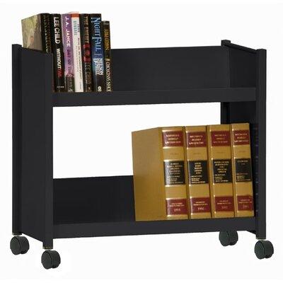 Sandusky Cabinets Sloped-Shelf Mobile Book Truck