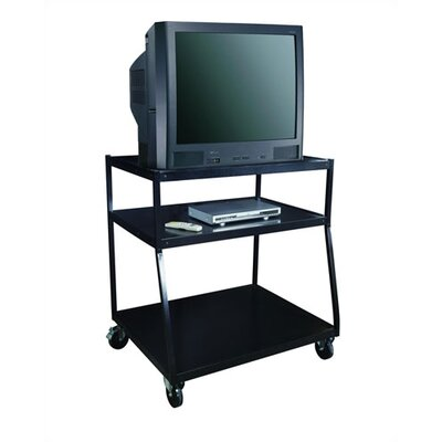 "Sandusky Cabinets 40"" Wide Body TV Monitor Cart"