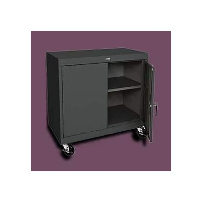 "Sandusky Cabinets Transport Wide Single Shelf Work Height Storage - 36"" x 36"" x 24"""