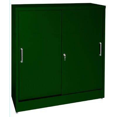 "Sandusky Cabinets Sliding Door 36"" Storage Cabinet"