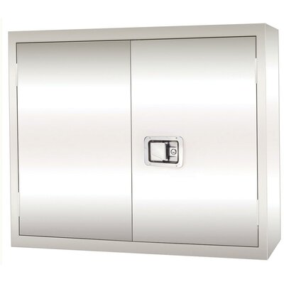 Sandusky Cabinets Stainless Steel Wall Cabinet with Paddle Lock, 30x12x30