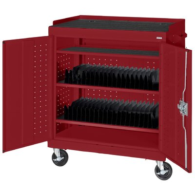Sandusky Cabinets Mobile Tablet Storage Cart