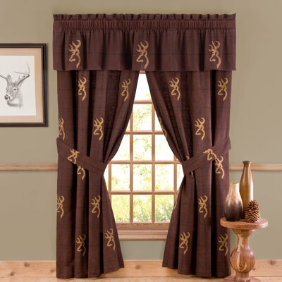 Browning Bedding Buckmark Window Treatment Collection