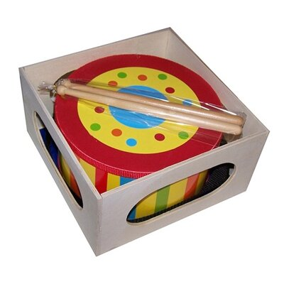 Sassafras Kid's Stripe Tom Tom Drum