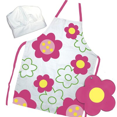 Sassafras Flower Power Apron Set