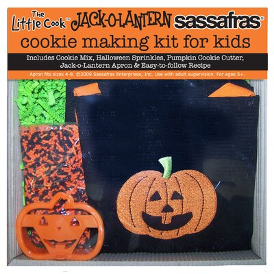 Sassafras Jack-O-Lantern Cookie Making Kit