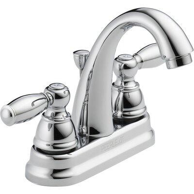 Centerset Bathroom Faucet with Double Handles - P299696LF