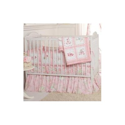 Whistle and Wink Pink Pagoda Crib Bedding Collection