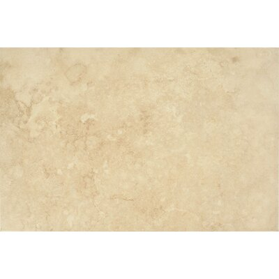 "Epoch Architectural Surfaces 8"" x 12"" Ceramic Wall Tile in Ivory"